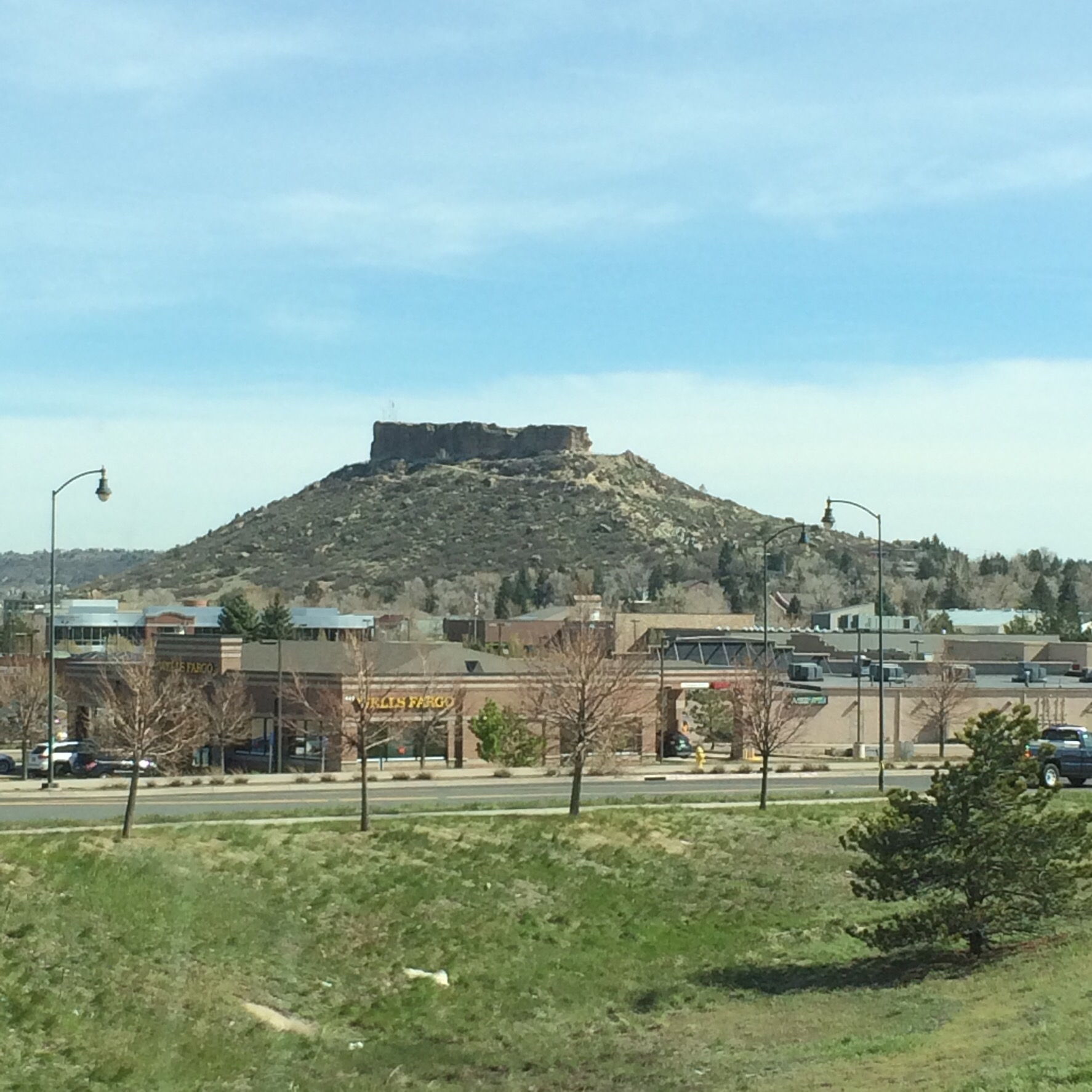 Castle Rock Colorado, landscape